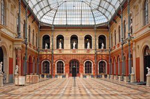 La Cour du Palais des Etudes de l'École des Beaux-Arts