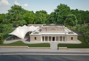 Design for Serpentine Sackler Gallery by Zaha Hadid Architects