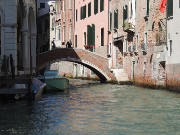 A Bridge, Venice, September 19th, 2013