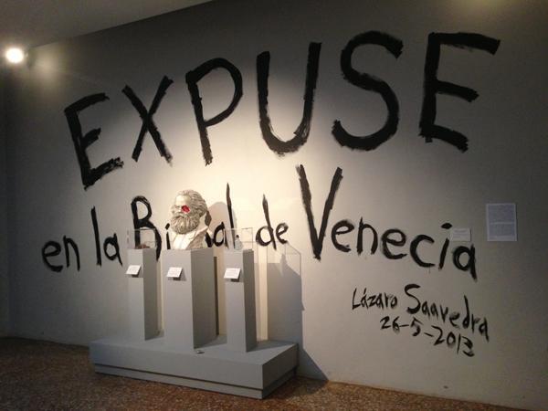Lazaro Saavedra, Detector de Ideologias, 2013. Cuban Pavilion, 55th Venice Biennale