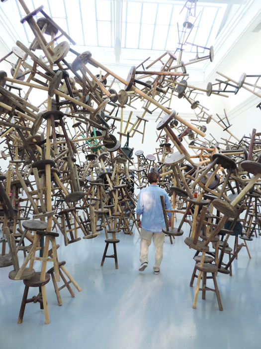Ai Weiwei, Bang, 2013, Deutsch Pavillon,