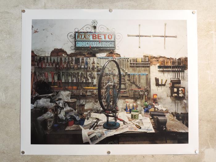 Guillermo Srodek-Hart, Bicicletería Leili, 2010, Archival pigment print, 80 x 100 cm, Pavilion of the Istituto Italo-Latinoamericano