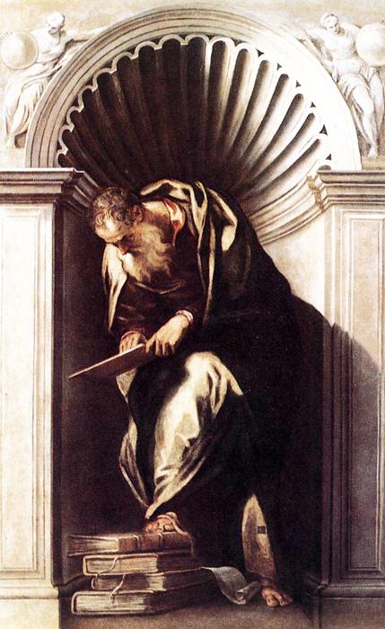 Veronese, Aristotle, Biblioteca Nazionale Marciana