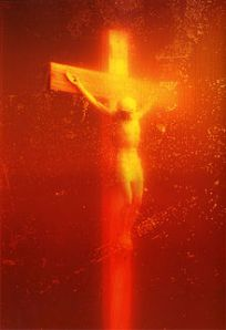 Piss Christ, 1987, Cibachrome