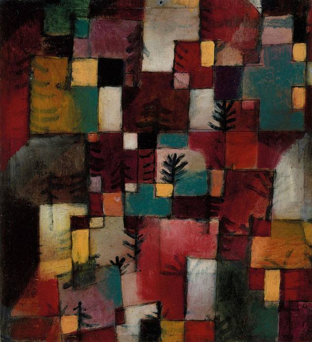 Lent by The Metropolitan Museum of Art, The Berggruen Klee Collection, 1984 (1984.315.19) Image © The Metropolitan Museum of Art / Source: Art Resource/Scala Photo Archives