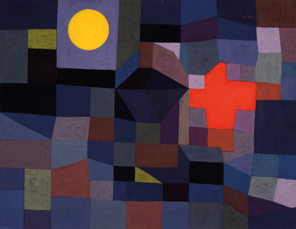 Paul Klee, Fire at Full Moon, 1933 Museum Folkwang, Essen, Germany