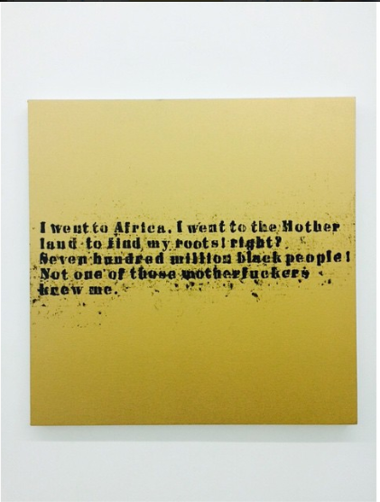 Glenn Ligon  at the Rubell Family Collection